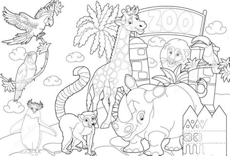 Coloring Zoo by Zoo Coloring Sheet 2017 16843 Zoo Coloring Page Zoo