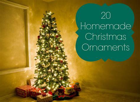 20 homemade christmas ornament ideas ftm