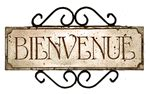 French Country signs|Fleur de lis Decor|Chateau signs - Home