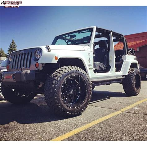 jeep wrangler moto metal mo wheels gloss black milled