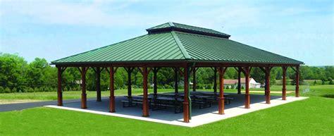 large outdoor picnic pavilions  event venue structures