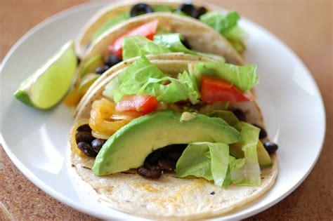 vegitarian food easy tacos recipe dishmaps