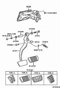 Brake Pedal  U0026 Bracket For 1998