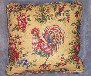 waverly saison de printempts rooster toile valance