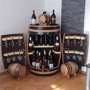 Whisky Bar Für Zuhause : mini bar pentru sticle de vin si pahare decor rustic pinterest weinfass weinregale und ~ Bigdaddyawards.com Haus und Dekorationen