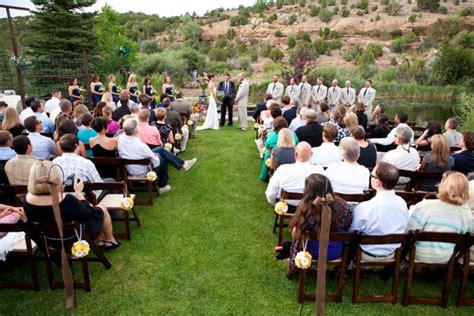 utah wedding venue unique outdoor utah wedding setting