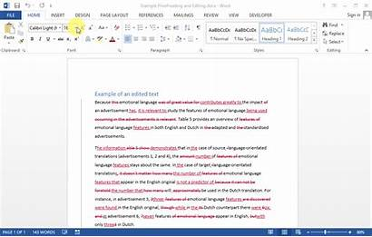 Word Vertical Side Lines Left Accept Changes