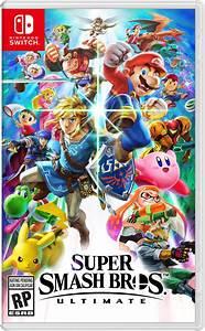 Super Smash Bros Ultimate Nothing But Geek