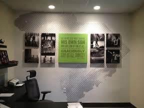 Paper Wall Art Office Design Ideas