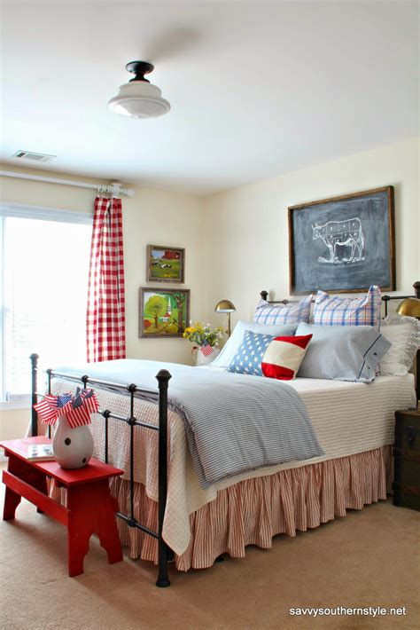 room decor savvy southern style a patriotic favorite room