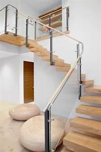 Treppenstufen Aus Glas : 40 treppengel nder glas luftiges gef hl im innendesign einsetzen ~ Bigdaddyawards.com Haus und Dekorationen