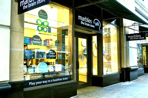 marble store the real chicago shop around the corner exercise the mind at marbles the brain store
