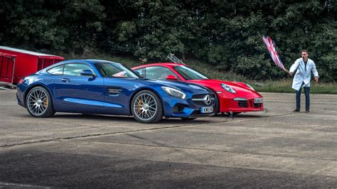 Top Gear Drag Races #2: Merc Amg Gt S Vs Porsche 911 Gts