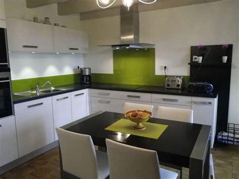 cuisine verte cuisine verte et grise pas cher sur cuisine lareduc com