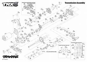 Exploded View  Traxxas Trx-4 Land Rover Defender