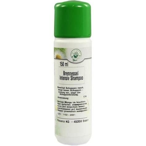 brennnessel intensiv shampoo  ml pzn
