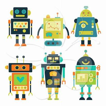 Robot Clipart Clip Robots Gear Bot Cliparts