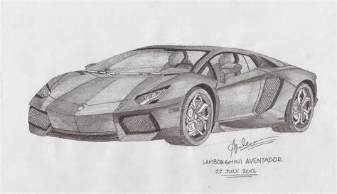 lamborghini sketch lamborghini aventador by andr3wz94 on deviantart