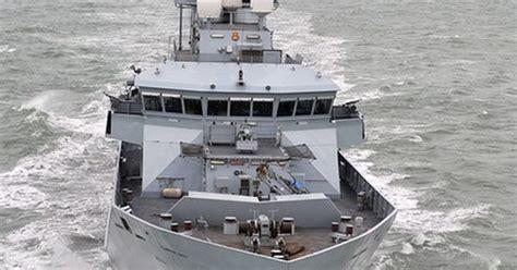 river class patrol vessel hms mersey   fishery