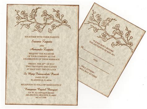 Indian Wedding Invitation Blank