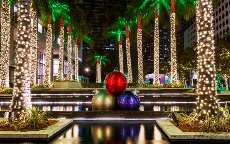 festive miami  south florida christmas