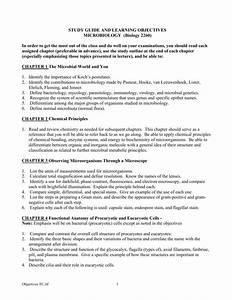 Study Guide And Learning Objectives Microbiology