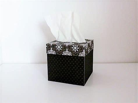 svg tissue box cover template  box svgboxcuts
