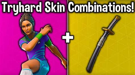 tryhard skin backbling combos fortnite tryhard