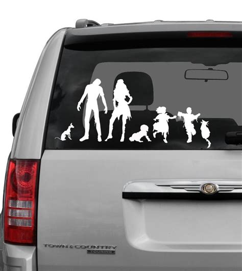 decals zombie decal stickers window funny them sticker stick vinyl pets baby zombies beat star vehicles awesome wars join cars