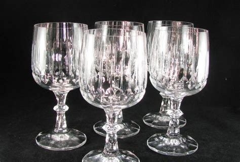 Lead Crystal Goblets Fine Crystal Glassware Crystal Bar