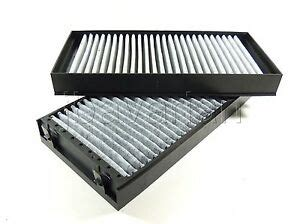 genuine bmw charcoal cabin filter set