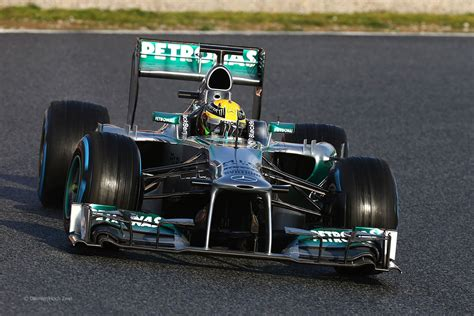 Follow the mercedes team, one of the most dominant forces of the modern f1 era, but one boasting a formula 1 tradition that dates back to the 1950s, with names like hamilton, rosberg and schumacher racing in the wheel tracks of fangio and moss. Mercedes W04 2013 F1 Wallpaper - KFZoom