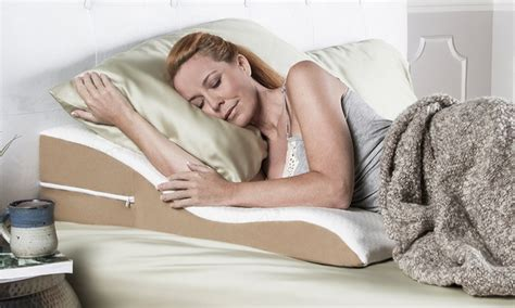acid reflux pillow up to 9 on avana ogee acid reflux pillow groupon goods