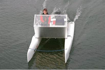 Boat Boats Power Plans Cat Rowing Plywood