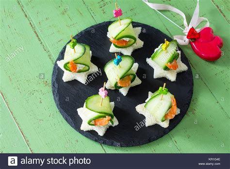 canape concept prawn canapes stock photos prawn canapes stock images