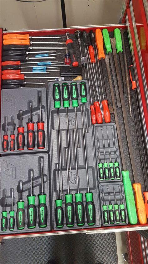 snap  screwdrivers garage tool organization garage