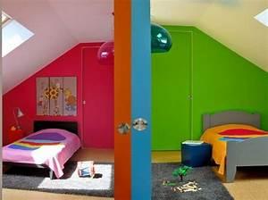 Decoration Chambre D Enfant : une chambre d 39 enfant color e elle d coration ~ Teatrodelosmanantiales.com Idées de Décoration