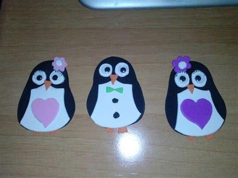 pinguinos mis cositas de goma pinterest