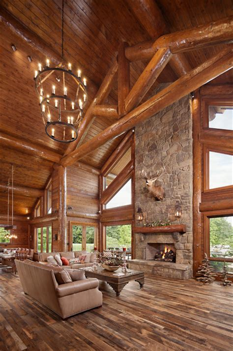 Modern Day Log Cabin  The Bowling Green Residence  Great
