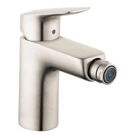 hansgrohe logis single handle bidet faucet with drain in