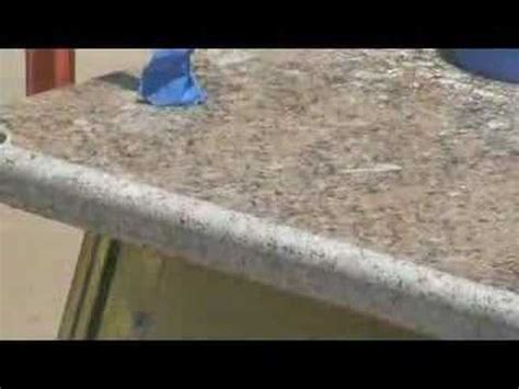 how to profile granite countertop diy