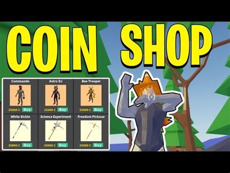 coin shop update  strucid  coin items youtube