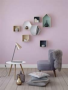 Wand Farbig Streichen Ideen : 45 super ideen f r farbige w nde ~ Lizthompson.info Haus und Dekorationen