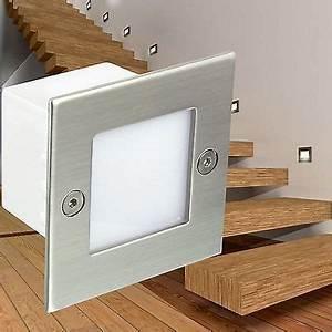 Led Lichtleiste Außen 230v : led wandeinbauleuchte boden treppen strahler innen und au en 230v ip54 weiss ~ Watch28wear.com Haus und Dekorationen