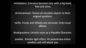 Skate 3 Cheat Codes Youtube