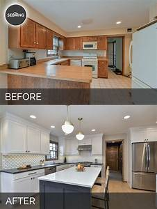 justin carinas kitchen before after pictures home With kitchen design photos before and after
