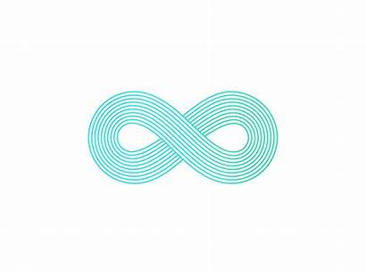 Infinity Sign Animation Dribbble Hello There
