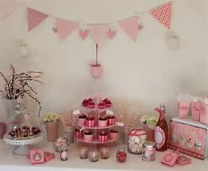 Décoration Table Bapteme Fille : sweet table girly anniversaire sweet table candybar pinterest anniversaire decoration ~ Farleysfitness.com Idées de Décoration