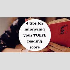4 Tips For Improving Your Toefl Reading Score  Aba Journal