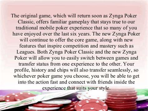 poker zynga update